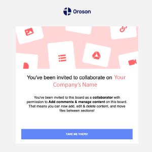 Oroson Invitation